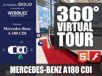 SVJETSKA PREMIJERA: Žiroskop virtualna šetnja u 360° sa otvaranjem/zatvaranjem auto elemenata i mjenjanjem boja