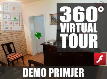 Virtualna šetnja u 360° - DEMO PRIMJER (Privatna kuća #1)